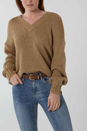 Beige Cosy pull