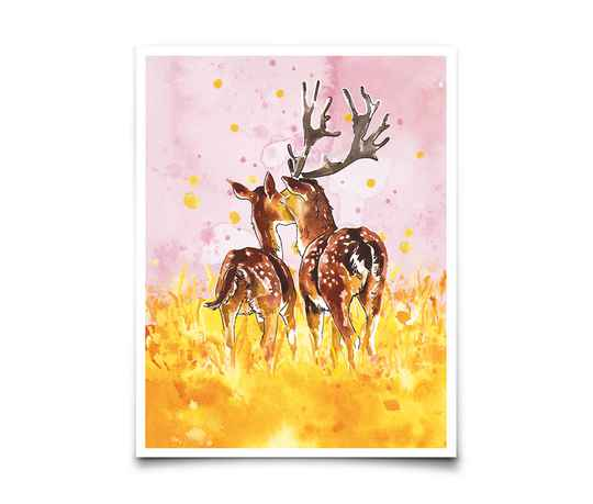Card - My deer