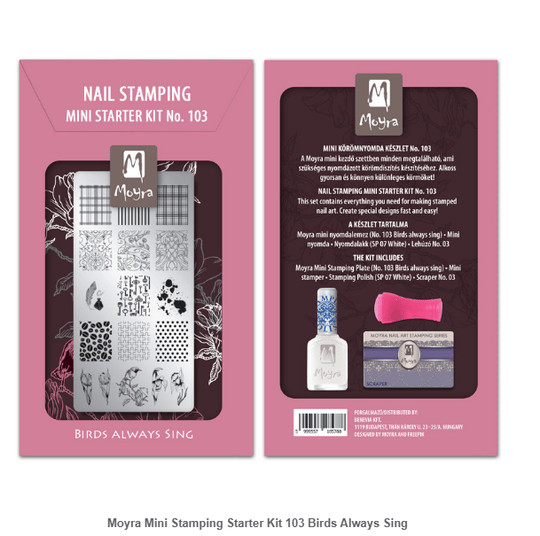 Mini Stamping Starter Kit 103 Birds Always Sing