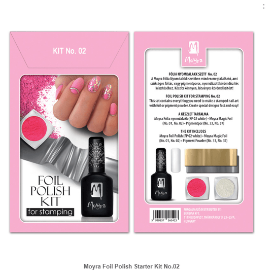Foil Polish Starter Kit No.02