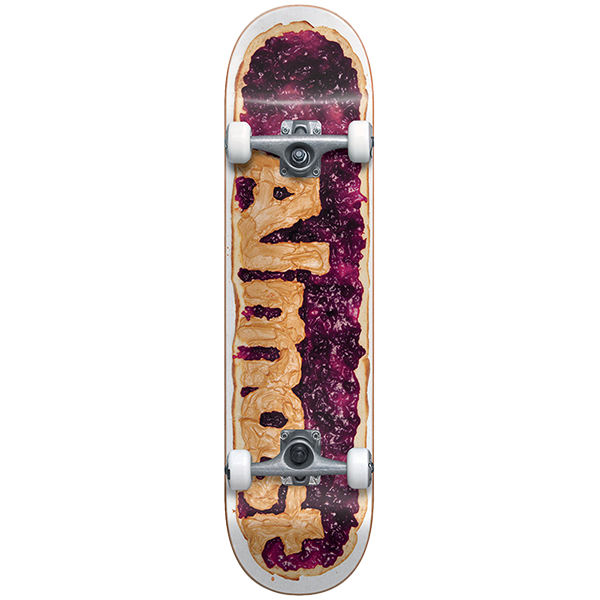 """Almost Complete Skateboard - PB&J Youth First Push 7.25"""""""