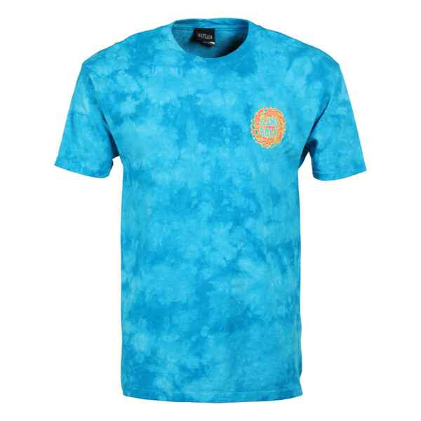 Santa Cruz T-shirt Slime Ball Logo Neonblue