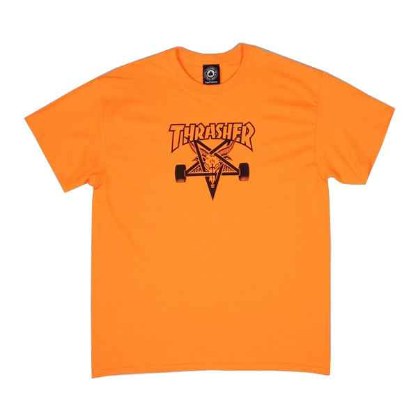 Thrasher T-Shirt Skate Goat - Orange