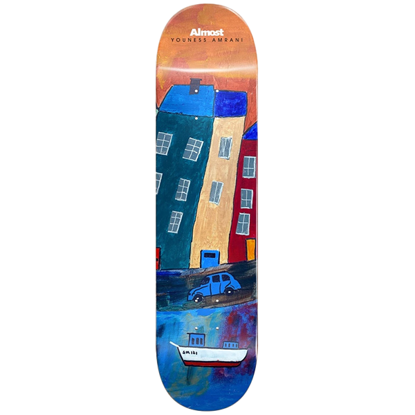 Almost - Youness Places R7 Skateboard Deck 8.0
