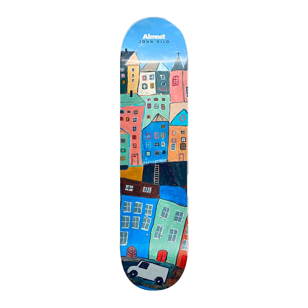 Almost - Dilo Places R7 Skateboard Deck 8.375