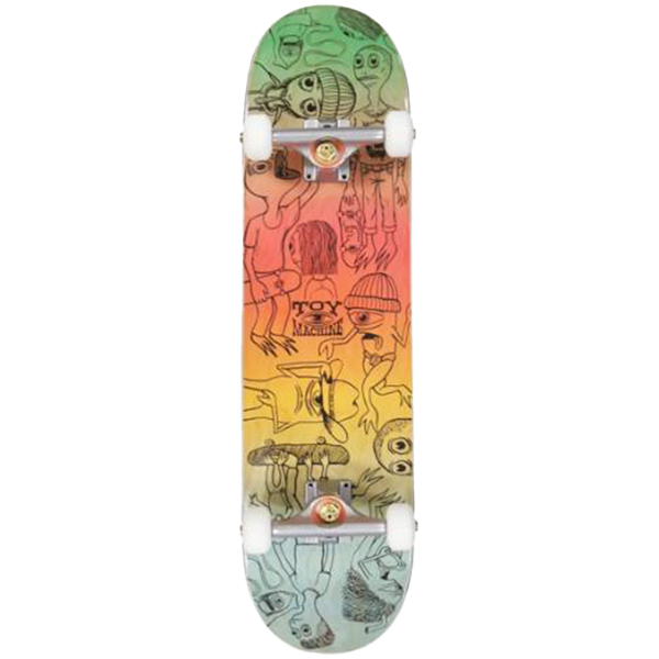 Toy Machine Complete Skateboard - Characters 8.0
