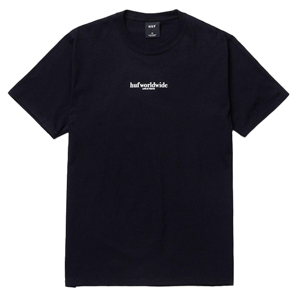 HUF T-shirt - Never Yours Black