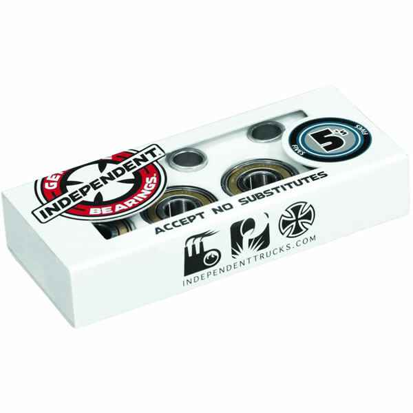 Independent ABEC 5 Bearings (Red)