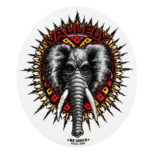 Powell Peralta Mike Vallely Sticker
