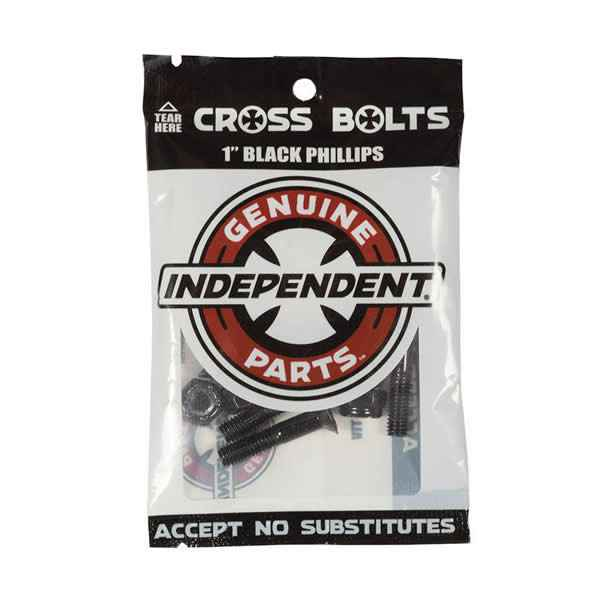 """Independent Mounting Kit Cross Black Phillips 1"""""""