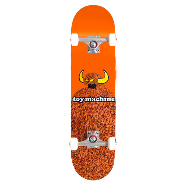 Toy Machine Complete Skateboard - Furry Monster 8.25