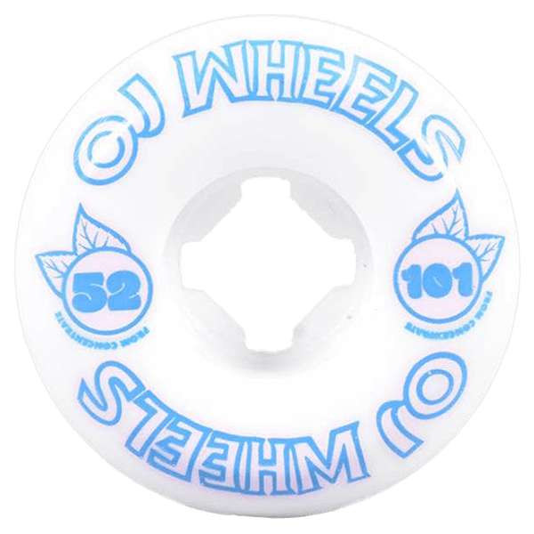OJ Wheels From Concentrate 2 Hardline 101A White Blue 52mm