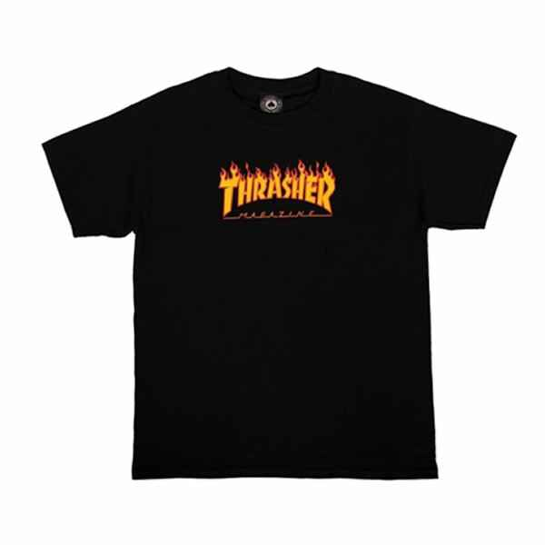 Thrasher Kids T-Shirt - Flame