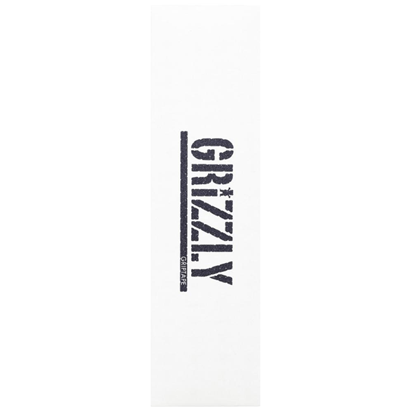 """Grizzly Griptape - White Stamp 9.0"""""""