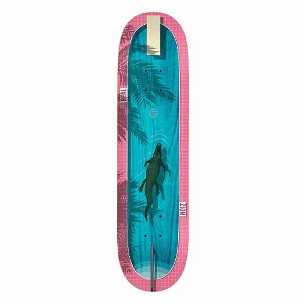 """Real Skateboard Deck - Zion Dive In 8.5"""""""