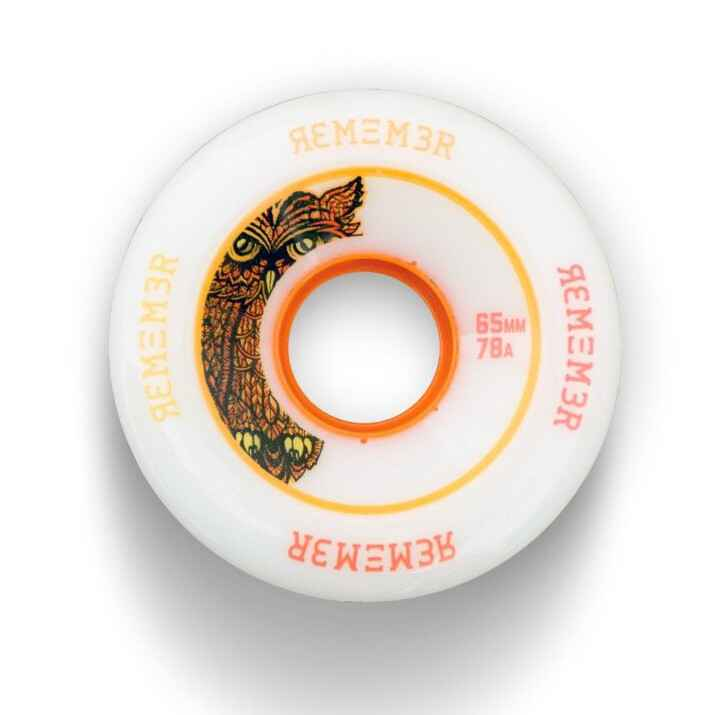 Remember Lil' Hoots 65mm White Wheels