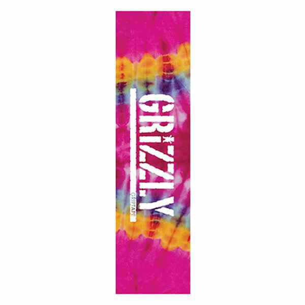 Grizzly Griptape - Tie Dye Pink and Orange