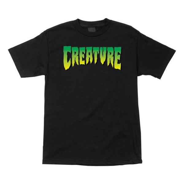Creature Skateboards T-shirt Logo s/s