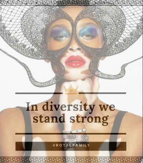 In diversity we stand strong! - (BLACK SHIRT)