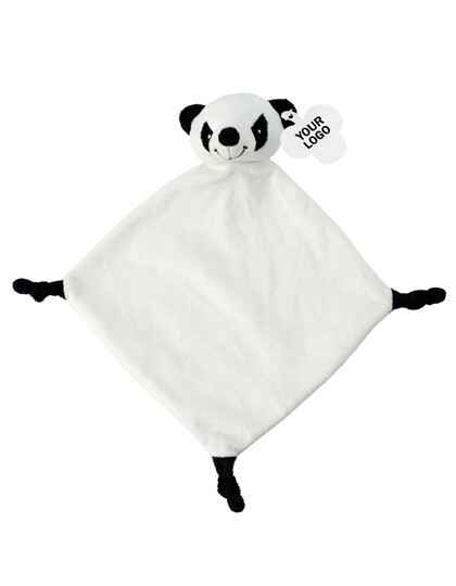 Pluch cloth relax panda wit
