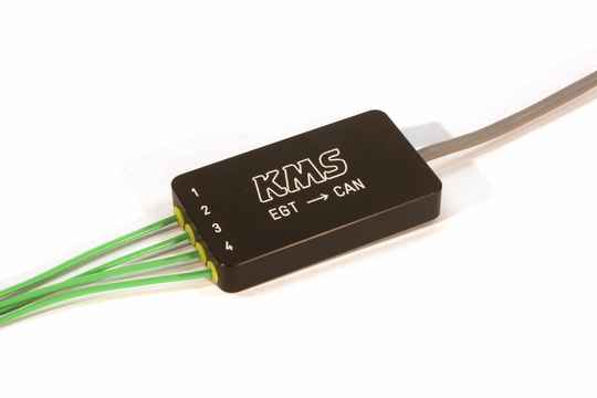 KMS EGT -> CAN converter 4-channel