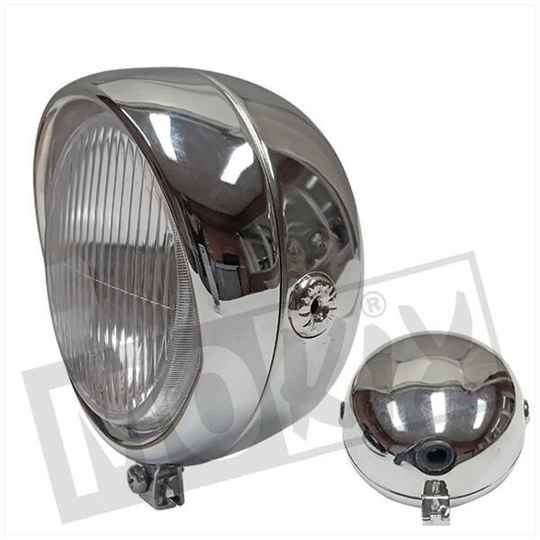 KOPLAMP UNI AUTOMAAT RETRO 13.5mm BAX15D CHROOM