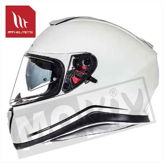 HELM MT THUNDER III SV SOLID WIT