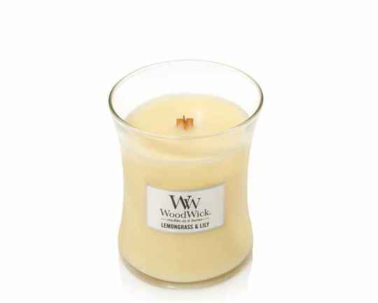 WoodWick Lemongrass & Lily Geurkaars Small