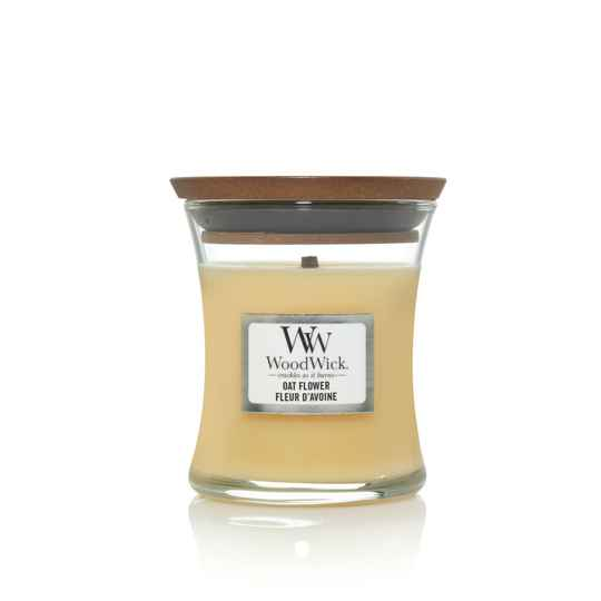 WoodWick Mini Candle Oat Flower