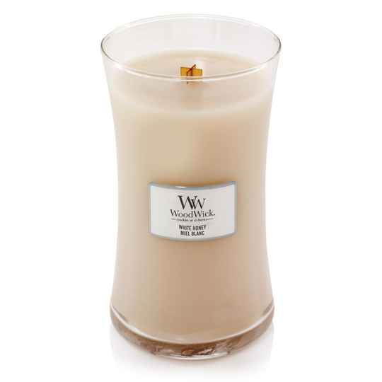 WoodWick Large Candle White Honey