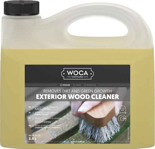 Woca Exterior Cleaner - 1 liter of 3 liter