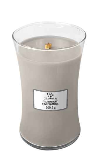 WoodWick Large Candle ​​​​​​​​​​​​Sacred Smoke