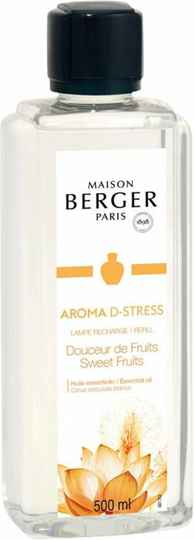 Lampe Berger - Navulling - Aroma D-stress - Douceur de Fruits - 500ml