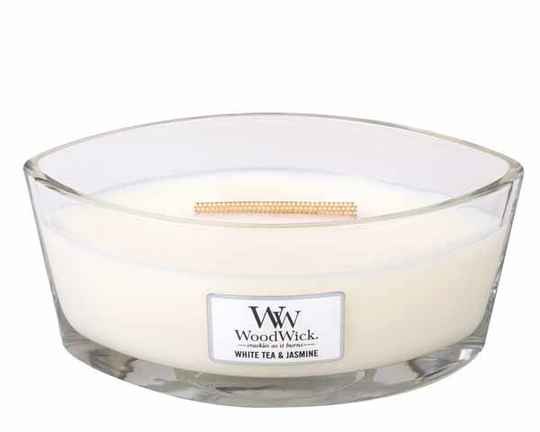 WoodWick  White Tea & Jasmine HearthWick  Ellips