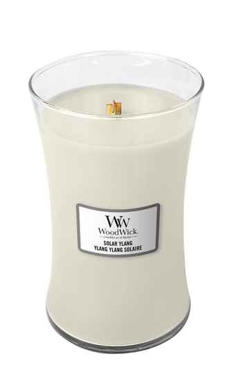 WoodWick Large Candle ​​​​​​​​​​​​Solar Ylang