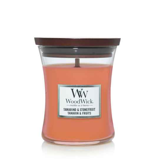 WoodWick Medium Candle Tamarind & Stonefruit