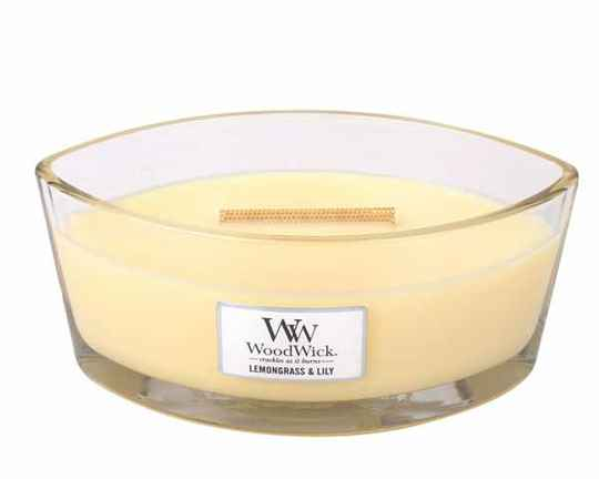 WoodWick® Lemongrass & Lily HearthWick Ellips