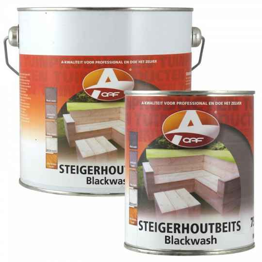 BLACK WASH OAF Steigerhoutbeits - 750 ml of 2,5 L