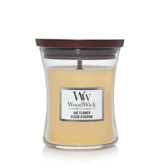 WoodWick Medium Candle Oat Flower