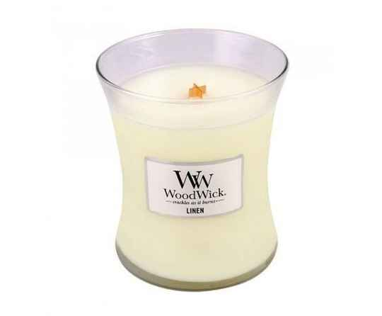 Woodwick Mini Candle Linen
