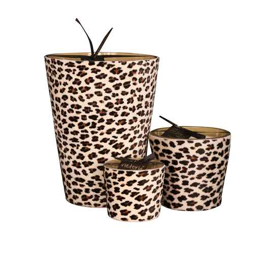 VICTORIA WITH LOVE -  HAIRY LEOPARD  - SMALL - Medium - Extra Large