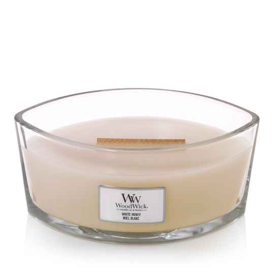 WoodWick Heartwick Flame Ellipse ​​​​​​​Woodwick Woodwick White Honey