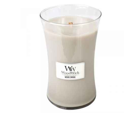 WoodWick Large Candle Wood Smoke