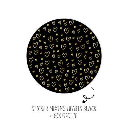 """Stickers """"Mixing Hearts"""