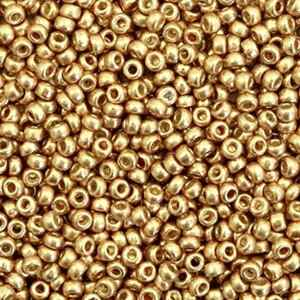 4204 Duracoat galvanized champagne gold 11/0