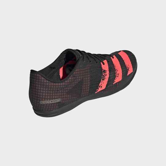 Adidas Distancestar dames/kinderen zwart/oranje (Allround)