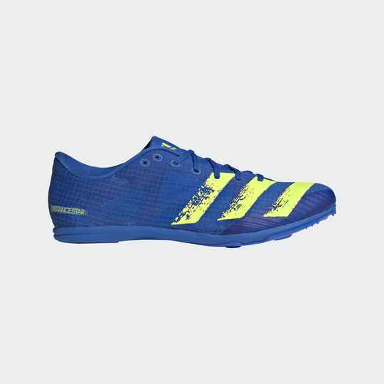 Adidas Distancestar blauw/geel (Allround)