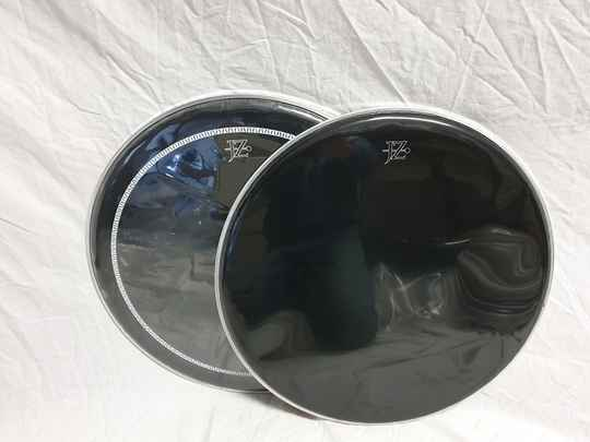 """NEW COMBINATION DEAL 20"""" batter and front drum head black"""