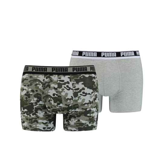 Puma Basic Boxer Green Combo 2-Pack (100001141-003)