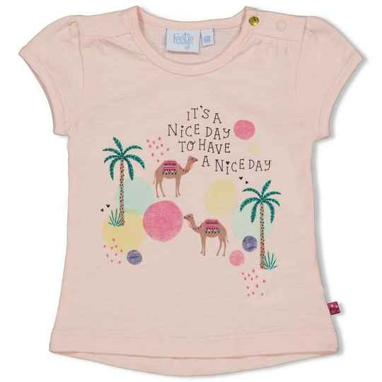 Feetje T-Shirt Nice Day Little Thing Called Love Perzik (51700608)